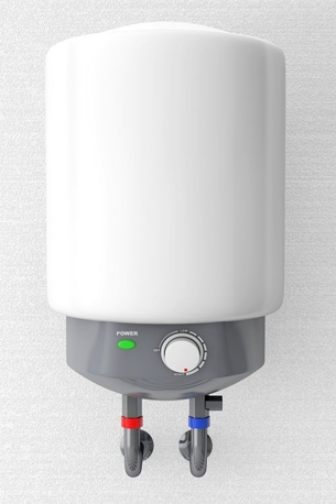 white tankless water heater